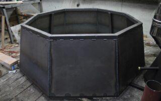 подставка-печь под сибирский чан