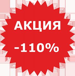 Акция -110%